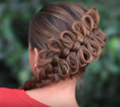 BLOG-Fancy diagonal bow braid