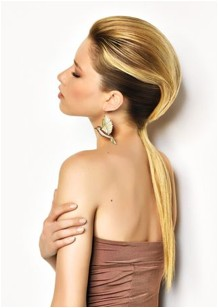 BLOG about fashion and hair: The best ponytail hairstyles