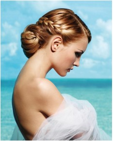 BLOG about fashion and hair: Bridal hairstyle