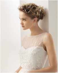 BLOG about fashion and hair: When Designers wedding dress inspire us