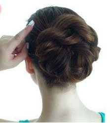 2 Minutes Twisted Updo