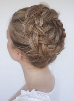 The Technique of High Crown Braid.