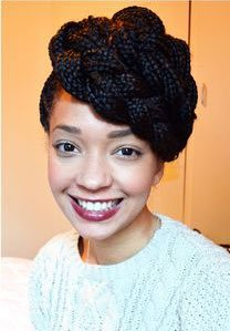 BLOG about fashion and hair: A Smart Idea For Afro Hair.
