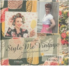 BLOG- Tuto for Retro Hairstyles (book in French)