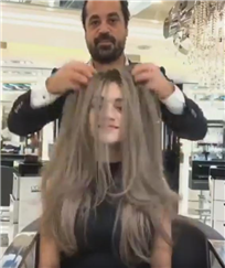 Mounir salon : Trend Grey Hair color
