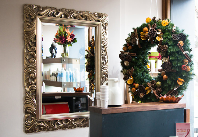Business How To Decorate My Hairdressing For Christmas