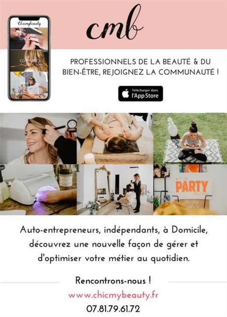 Hairdressing Job offer Coiffeuse/re à Domicile auto entrepreneur independant