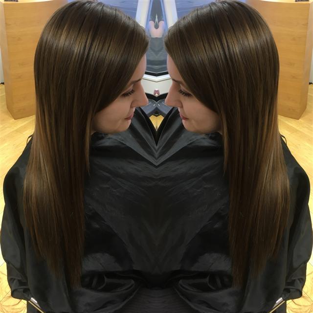 Natural elegant hair extensions
