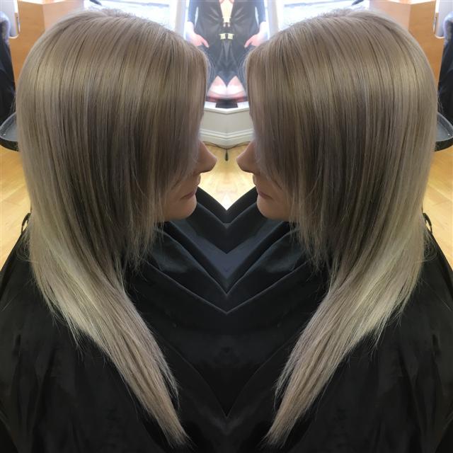 Blonde foils