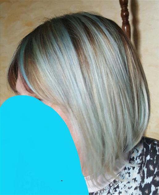 Babyblue  hair