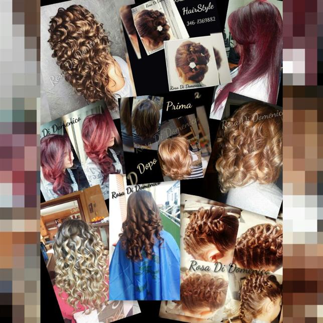 Acconciature per tutti i tipi by Rosa Di Domenico Hair Style