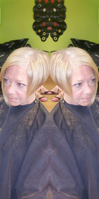 Sassy A- symmetrical cut