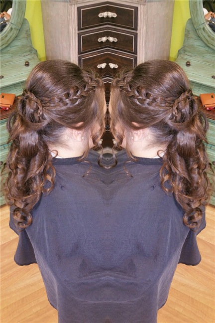 Updo Braid