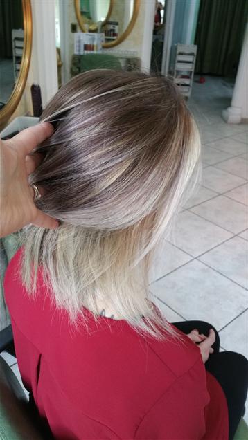 Hair light contouring