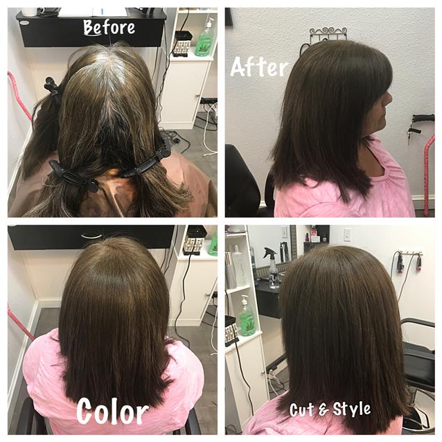 Color cut style