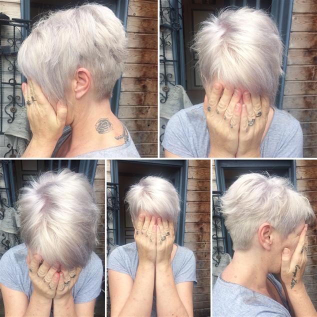 Blond Froid Nacré Grisé