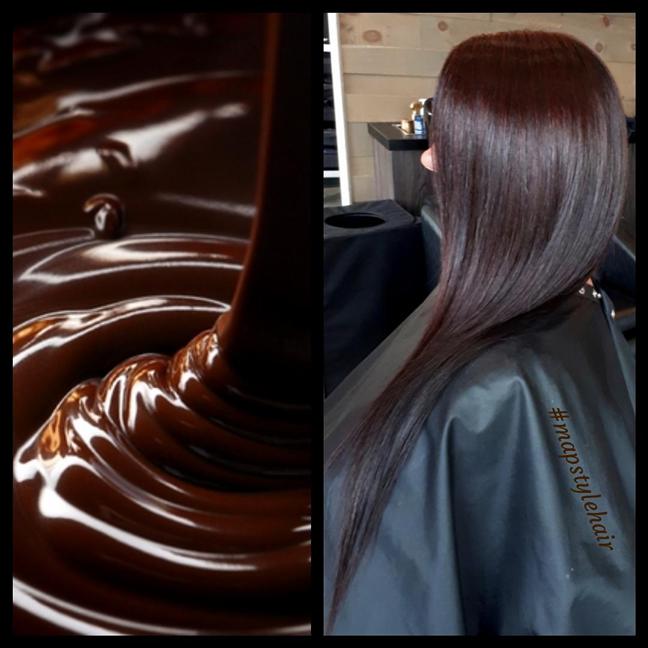 Chocolate brown 🍫