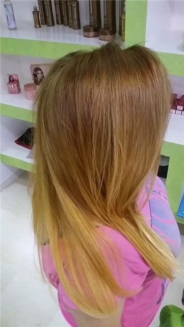 Coupe coloration Keratine