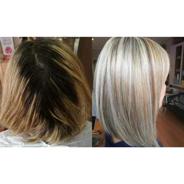 Hair transformation 💪
