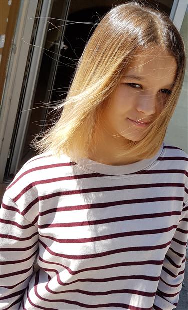 Ombré blond lumineux