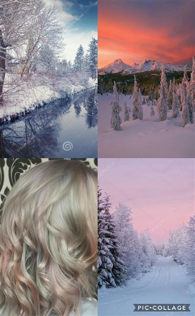 Pastel hivernal