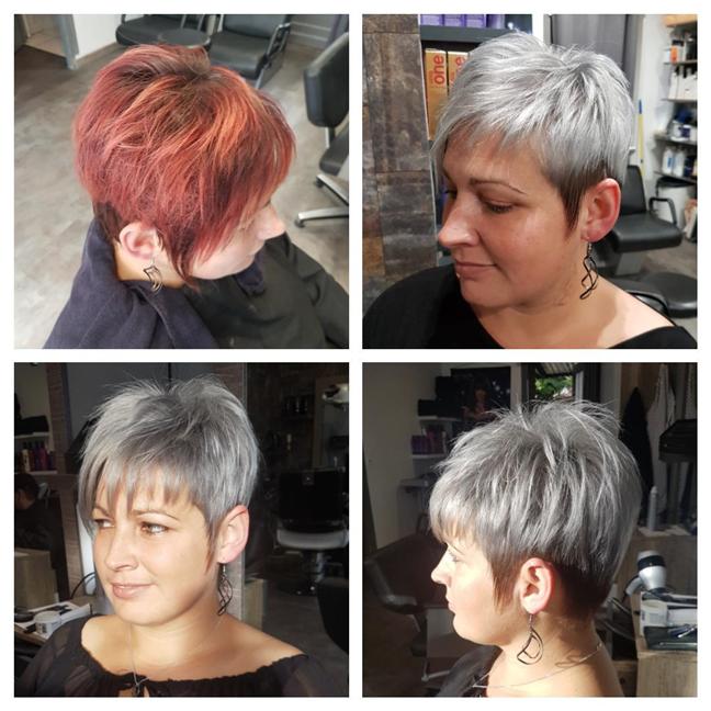 Transformation hair