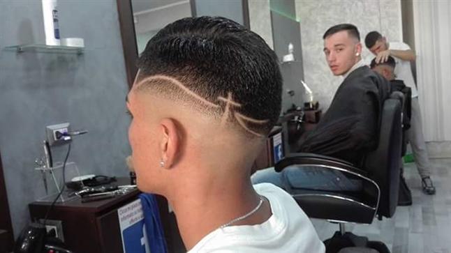 Disegni sui capelli uomo