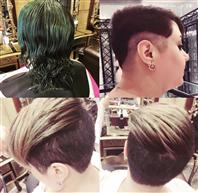 All tendance off hair colour cut