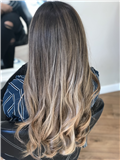 Ombré hair blond effet naturel