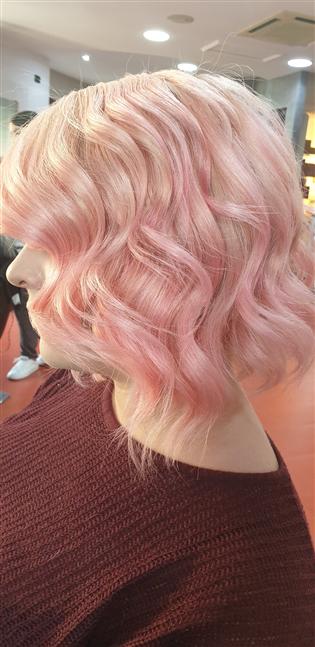 Balayage pink