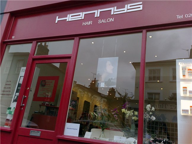 Hair salons Hennys Hair