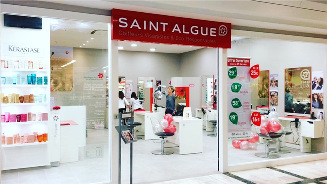 Hair salons Saint Algue